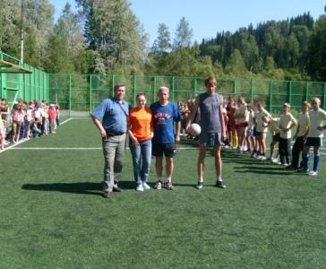 Товарищеская встреча по футболу